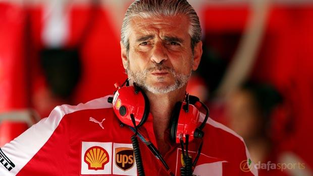 F1 Maurizio Arrivabene Italian Grand Prix