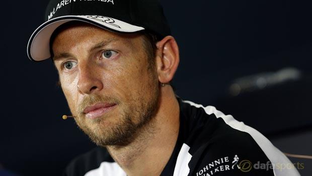 F1 McLaren-Honda Jenson Button Belgium Grand Prix