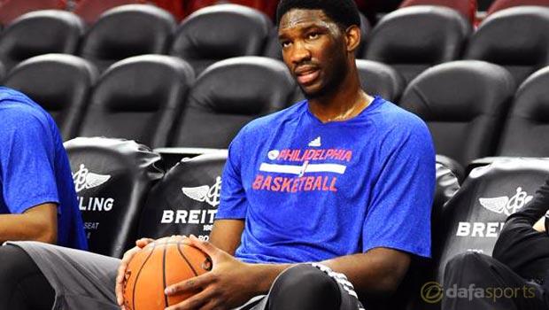 NBA Philadelphia 76ers Joe Embiid
