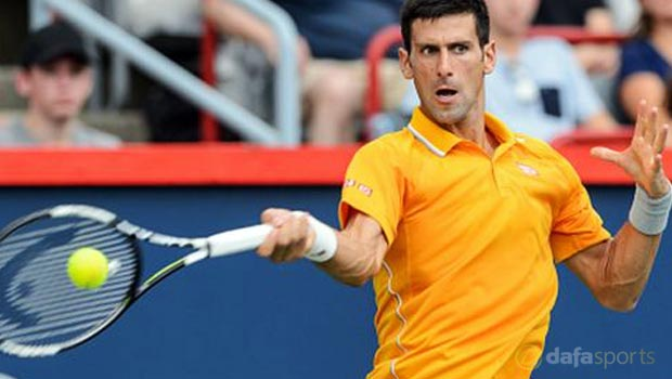 Novak Djokovic Rogers Cup
