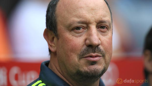 Rafael Benitez Real Madrid manager