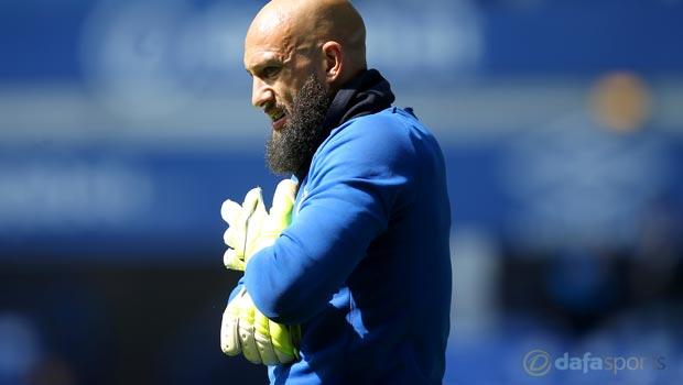 Tim Howard Goalkeeper Everton