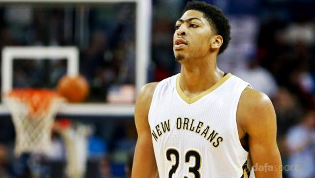 Anthony Davis New Orleans Pelicans NBA