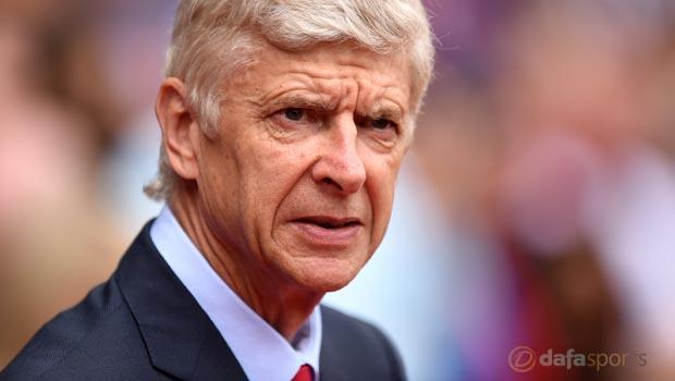Arsene Wenger Arsenal v Dinamo Zagreb