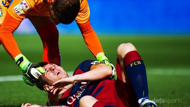 Barcelona v Las Palmas La Liga Lionel Messi