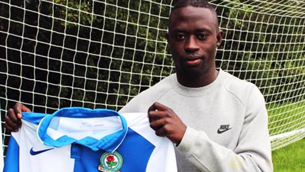 Blackburn Rovers player Modou Barrow