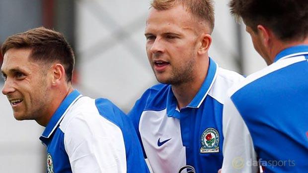 Blackburn Rovers star Jordan Rhodes