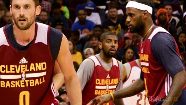 Cleveland Cavaliers star Kyrie Irving NBA