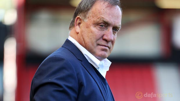 Dick Advocaat Sunderland v Bournemouth
