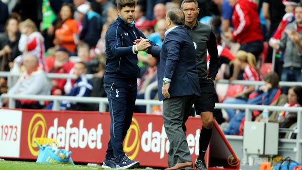 Dick Advocaat Sunderland v Tottenham