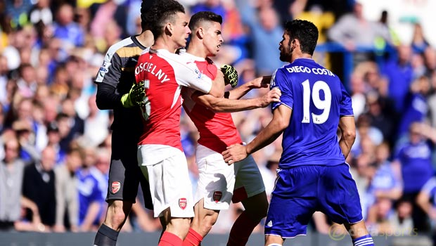 Diego Costa hit by FA charge Chelsea v Arsenal