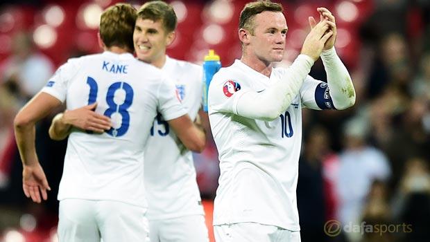 England captain Wayne Rooney Euro 2016