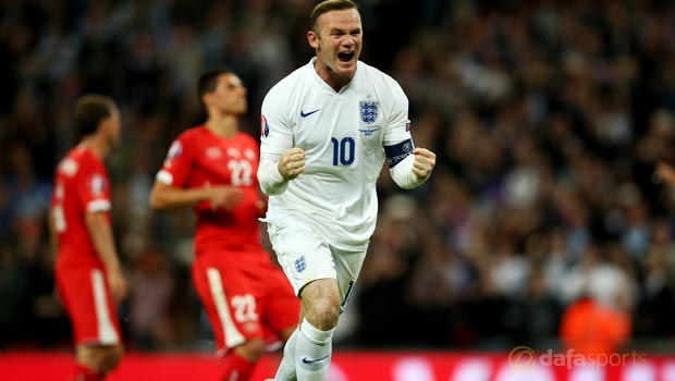 England Wayne Rooney 50th goal Euro 2016