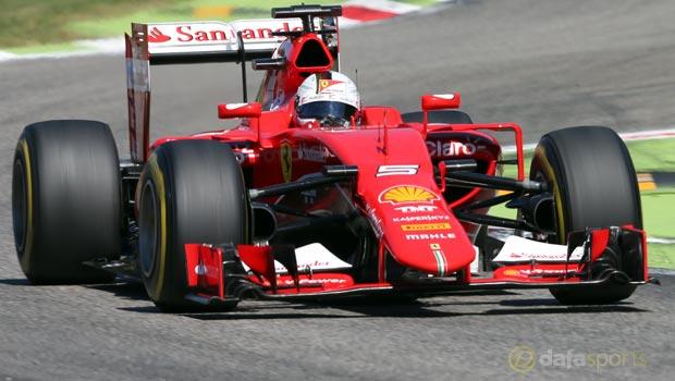 Ferrari Sebastian Vette F1