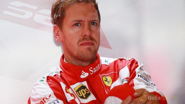 Ferrari Sebastian Vettel Italian GP F1