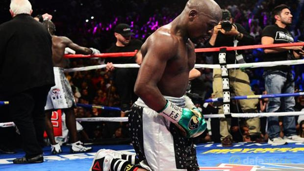 Floyd Mayweather dominated Andre Berto