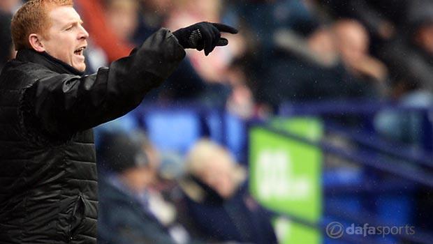 Former Celtic boss Neil Lennon