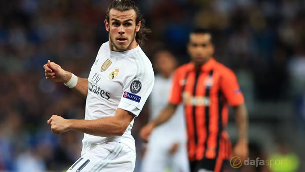 Gareth Bale Real Madrid v Shakhtar Donetsk