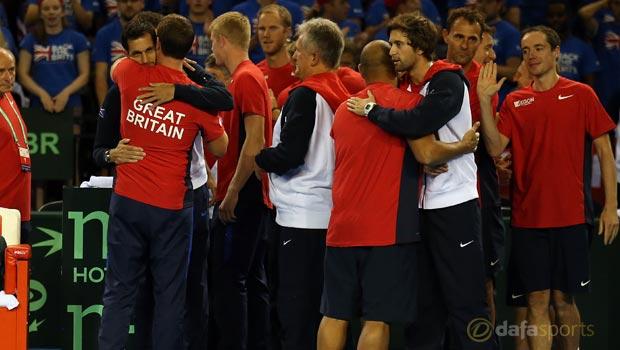 Great Britain to face Belgium Davis Cup