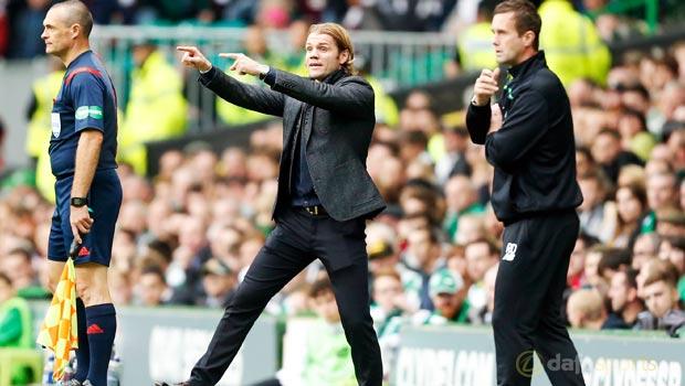 Heart of Midlothian Robbie Neilson and Celtic Ronny Deila
