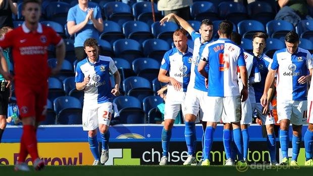 Jordan Rhodes Blackburn 3-0 Charlton Championship