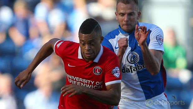 Jordan Rhodes Blackburn Rovers v Charlton Athletic
