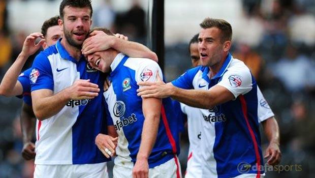 Jordan Rhodes Blackburn Rovers v Hull City