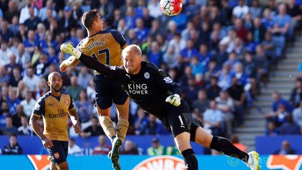 Leicester City 2-5 Arsenal Alexis Sanchez