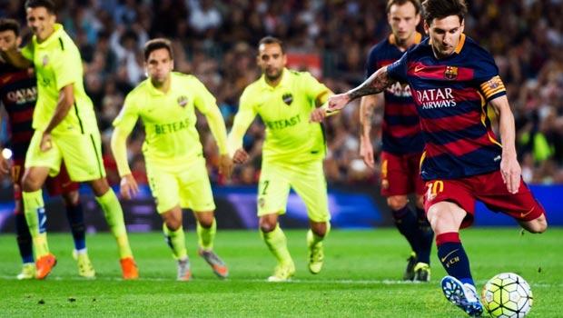 Lionel Messi Barcelona 4-1 Levante