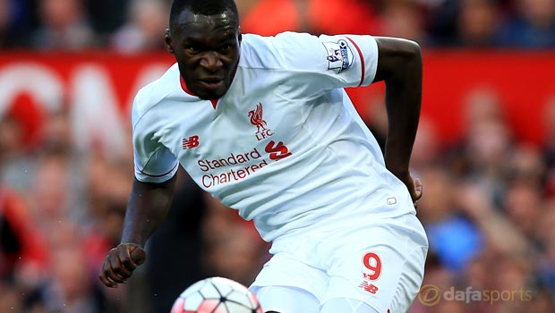 Liverpool striker Christian Benteke