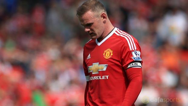 Man Utd forward Wayne Rooney Champions League