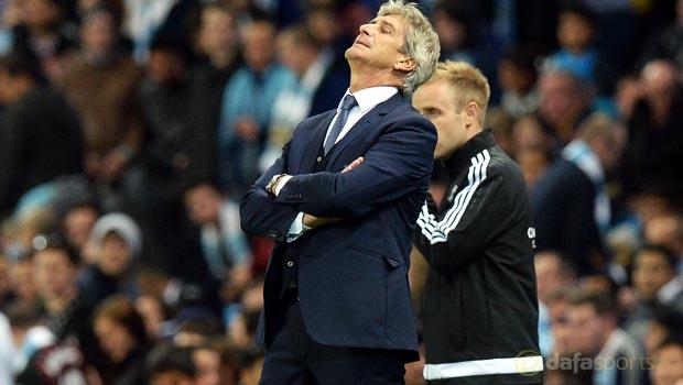 Manuel Pellegrini Man City v Juventus Champions League
