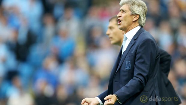 Manuel Pellegrini Manchester City v West Ham United