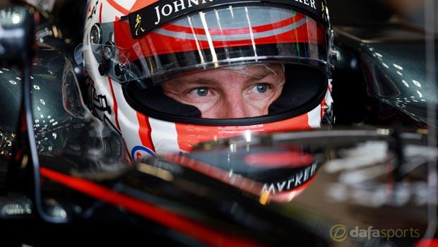McLaren Jenson Button ahead of Singapore Grand Prix