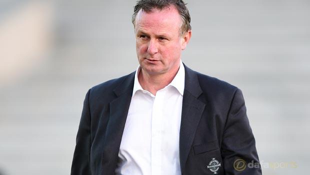 Northern Ireland manager Michael ONeill