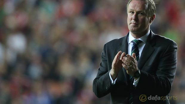 Northern Ireland manager Michael ONeill Euro 2016