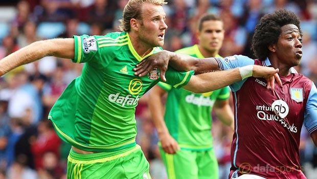 Ola Toivonen Sunderland v Aston Villa