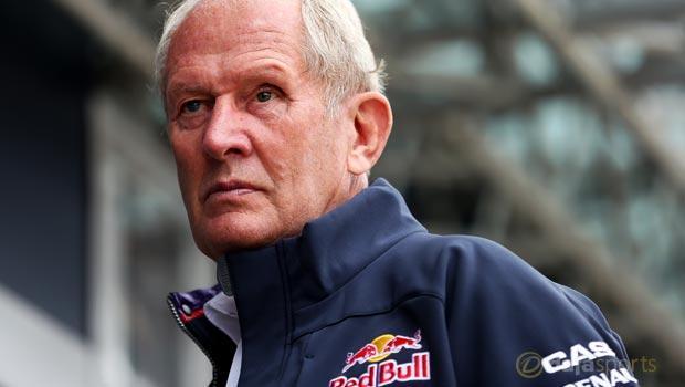 Red Bull Helmut Marko F1