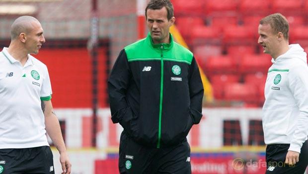 Ronny Deila Celtic v Aberdeen