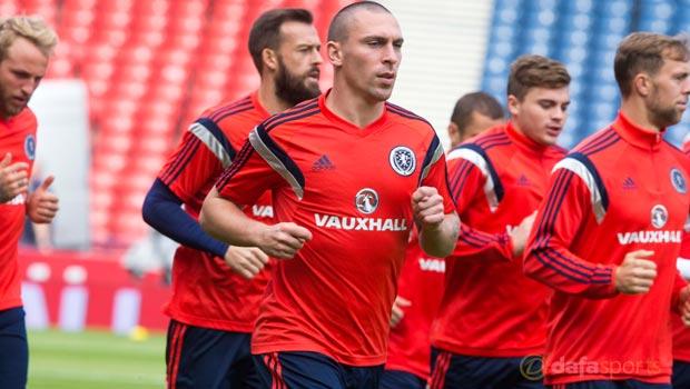Scotland captain Scott Brown Euro 2016