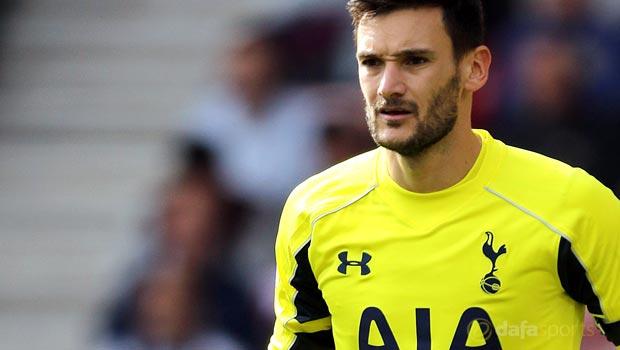 Spurs skipper Hugo Lloris