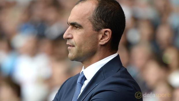Toffees boss Roberto Martinez