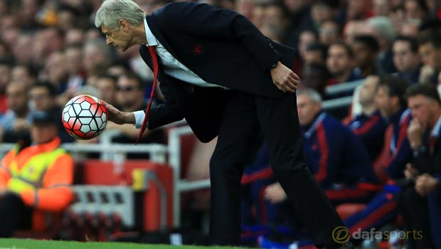 Arsenal v Manchester United Arsene Wenger