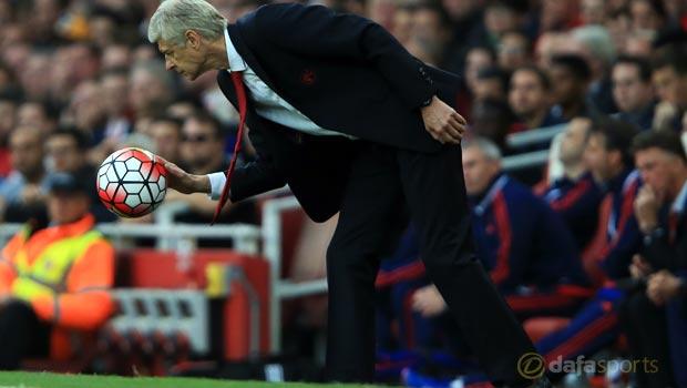 Arsenal v Manchester United Arsene Wenger