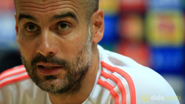 Bayern Munich Pep Guardiola