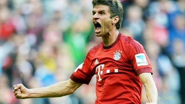 Bayern Munich Thomas Muller