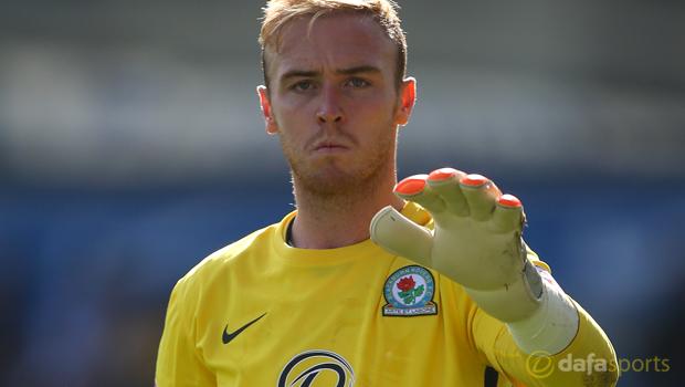 Blackburn Rovers goalkeeper Jason Steele