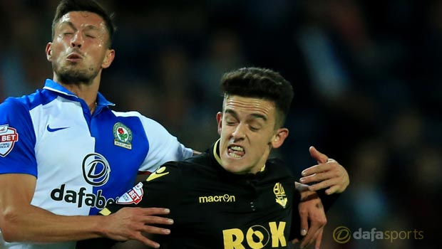 Blackburn Rovers star Jason Lowe