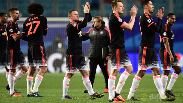 CSKA Moscow v Manchester United Champions League