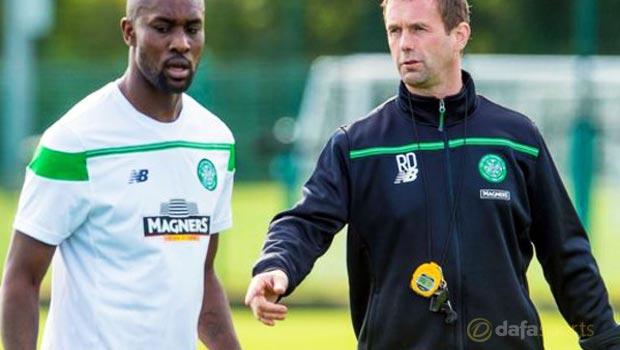Carlton Cole Ronny Deila Celtic